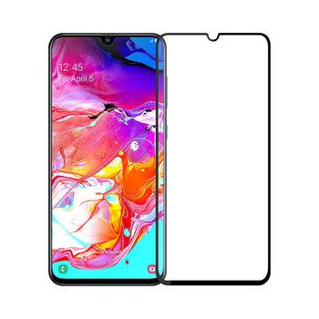 Защитное стекло Samsung A70 (5D )