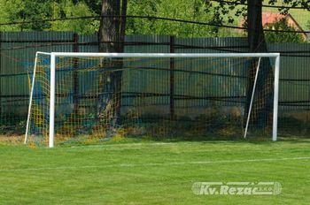 Сетка для футбола 7.5х2.5х0.8х1.2 м,  195 (2659)