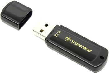 купить Flash Drive Transcend JetFlash 350 Black 8Gb в Кишинёве