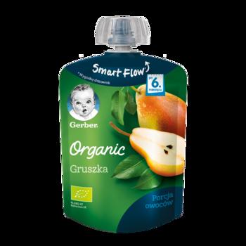 Пюре Gerber Organic груша, с 6 месяцев, 90г