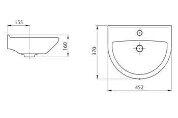 Lavoar Santeri Rodnicek 45x37