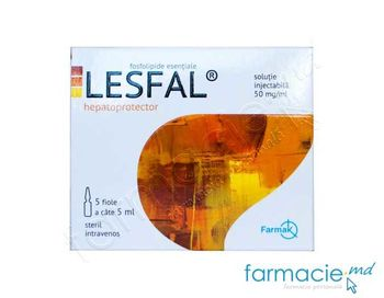 купить Lesfal sol. inj. 50 mg/m 5 ml N5 в Кишинёве