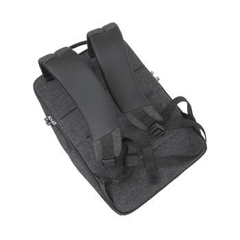 """16"""" Backpack RIVACASE 8861, black melange"""