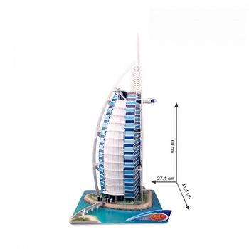 купить CubicFun пазл 3D Burj Al Arab в Кишинёве