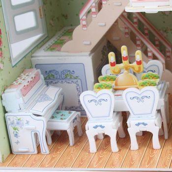 cumpără CubicFun puzzle 3D Dreamy Dollhouse în Chișinău