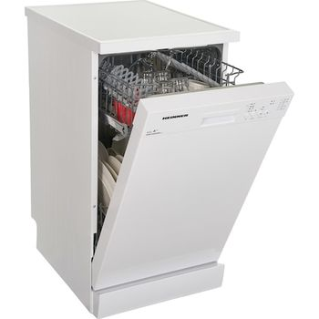 Посудомоечная машина Heinner HDWFS4505WA, 10 комплектов посуды, 5 программы, 45см, A++