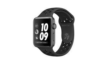 купить Apple Watch Series 3, 42mm, Space Gray Aluminium Case With Anthracite / Black Nike Sport Band, MTF42 в Кишинёве