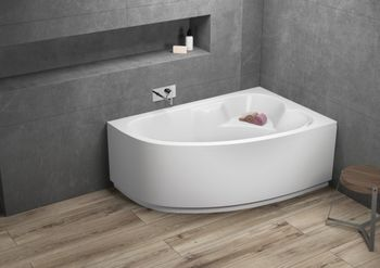 Ванна Polimat Noel 140x80cm Right (15494)