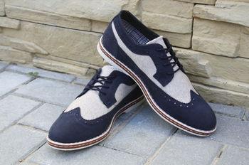Туфли ELEGANT стиль Oксфорд