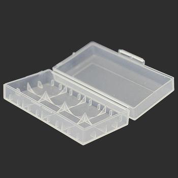 купить Пластиковый кейс на 2 батарейки 18650 (Basen) в Кишинёве