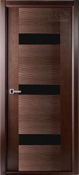 купить Дверь АВАНГАРД-ПЛЮС венге остекленная в Кишинёве