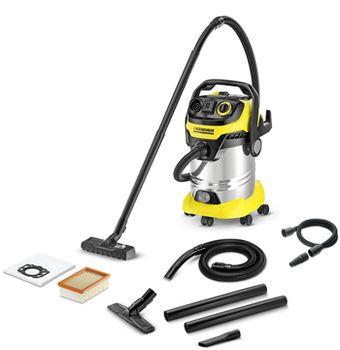 Промышленный пылесос Karcher WD 6 Premium Inox Renovation