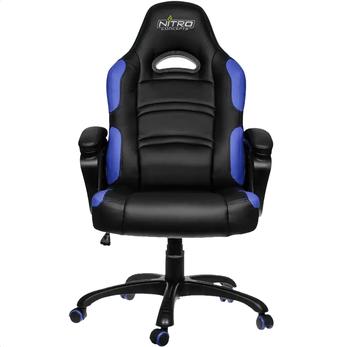 Gaming Chair Gamemax GCR07,  Black/Blue