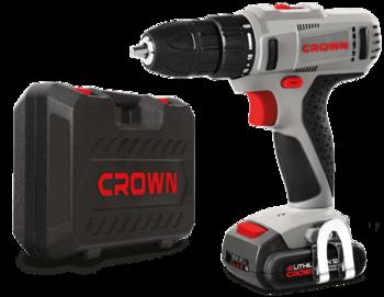 купить Шуруповерт аккумуляторный 12 V (1,5 Ah)  Crown CT21052LH-1.5 BMC в Кишинёве