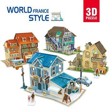 купить CubicFun пазл 3D World Style France в Кишинёве