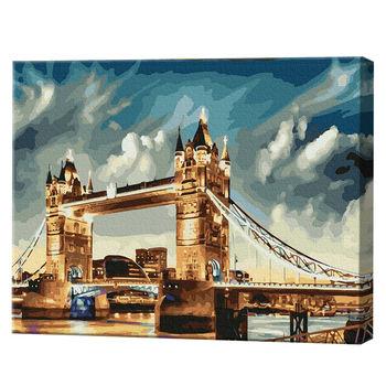 Лондонский мост, 40х50 см, картина по номерам Артукул: GX35864