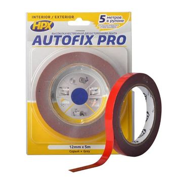 HPX AUTOFIX PRO Двухсторонняя акриловая лента 0,8 мм