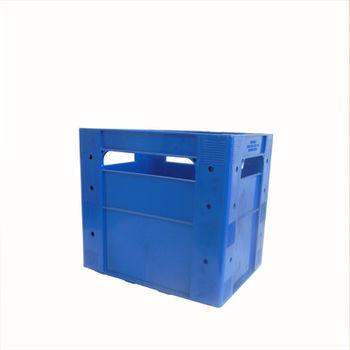 cumpără Ladă din plastic A102, 530x350x315 mm, albastru în Chișinău
