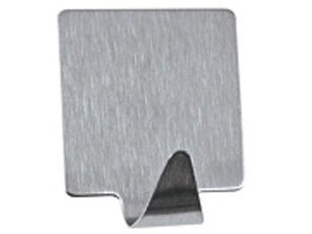 Крючки самоклеюшиеся 4шт квадрат 3cm, нерж сталь