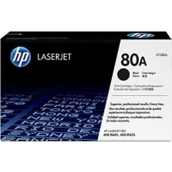 HP #80A Black LaserJet  Print Cartridge (2700pages)