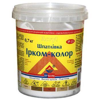 Ирком Шпатлевка Ирком-Колор ИР-23 Ясень 0.7кг