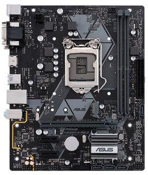 ASUS PRIME H310M-A R2.0, Socket 1151, Intel® H310 (9th/8th Gen CPU), Dual 2xDDR4-2666, 1xPCIe X16, CPU Intel graphics, VGA, DVI, HDMI, 4xSATA3, 1xM.2, 2xPCIe X1, ALC887 HDA, GbE LAN, 4xUSB3.1, mATX