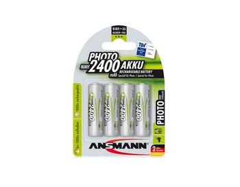 Ansmann AA NiMH 2400mAh, 4pack