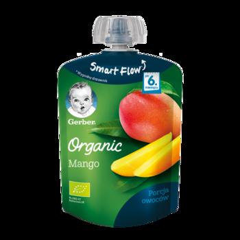 Пюре Gerber Organic манго, с 6 месяцев, 90г
