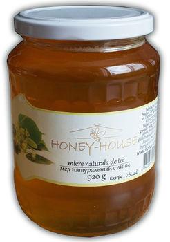 """Мед """"Honey House"""" с липы 920г"""
