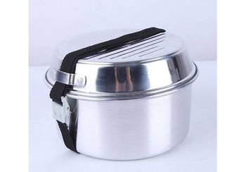 Посуда туристическая KingCamp Camper 2 KP3901 silver (1020)