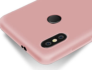 750019 Husa Screen Geeks Touch Xiaomi Redmi Note 5 Pro TPU, Coral (чехол накладка в асортименте для смартфонов Xiaomi, силикон)