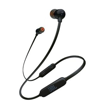 JBL T110BT / Bluetooth In-ear headphones with microphone, BT Type 4.0, Dynamic driver 8.6 mm, Frequency response 20 Hz-20 kHz, 3-button remote with microphone, JBL Pure Bass Sound, Battery Lifetime (up to) 6 hr, Black