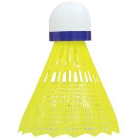 """Воланчик для бадминтона """"Medium"""" (нейлон, пробка) Talbot Torro Tech350 479113 yellow-blue (4701)"""