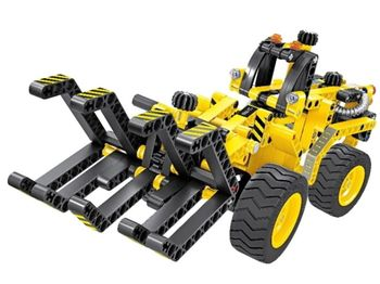 6804, XTech Bricks: 2in1, Construction Timber Crab & Dune Buggy, 301 pcs