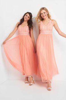 Платье ORSAY Персиковый