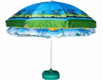 """Зонт солнцезащитный D210cm """"Beach"""",чехол"""