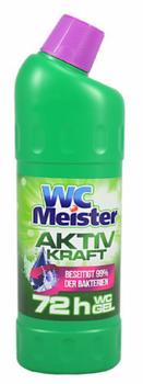купить Чистящее средство для унитаза WC Miester Aktiv Kraft Green 1000 мл в Кишинёве
