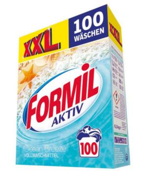 Detergent de rufe Formil Activ XXL Ocean Breaze 6,5 kg (100 spălări)