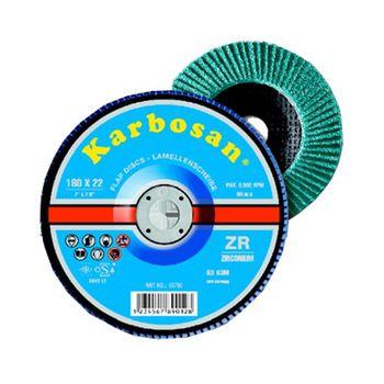 Karbosan Диск лепестковый 125мм ZR 40