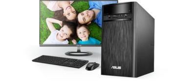 "cumpără ""Asus Desktop K31CD ( Pentium G4400 4Gb 500GB ODD UMA Win10 24L ) Black Intel® H110,4 GB Up to 16 GB DDR4 at MHz,1 x PCI-e x 16,1 x mini PCI-e,4 x SATA 6Gb/s,3.5"""" 500GB Up to 3TB SATA Hard Drive,24X DVD-RW,LAN 10/100/1000/Gigabits Mbps,SonicMaster High Definition 7.1 Channel Audio,Front I/O Ports:1 x 6 -in-1 Card Reader 1 x Headphone,1 x Microphone,2 x USB 3.0,Back I/O Ports:2 x USB 3.1,2 x USB 3.0,2 x USB 2.0,1 x HDMI-Out,1 x VGA(D-Sub)-Out,1 x RJ45 LAN,1 x Line in,1 x Headphone (Speaker Out),1 x Microphone,180 x 350 x 390 mm (WxDxH),Keyboard and Mouse Wired"" în Chișinău"