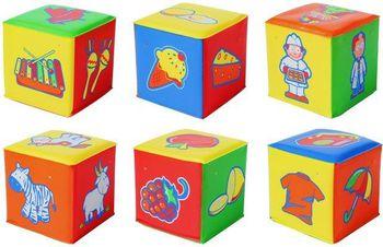 """BabyOno игрушка """"Кубик мягкий"""" (1шт.)"""