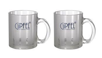 Ceasca GIPFEL GP-7926 (din sticla 2 buc.)