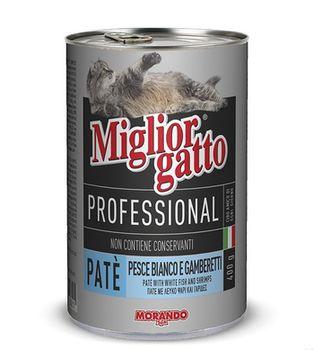 купить Miglior gatto паштет из рыбы и креветок в Кишинёве