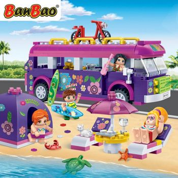BanBao 6123  trendy beach - 375 blocks