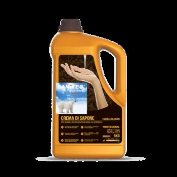 Luxor Gold Argan - Крем-мыло антибактериальное 5 кг