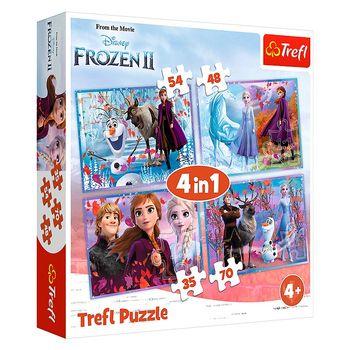 cumpără Trefl Puzzle 4 in 1 în Chișinău