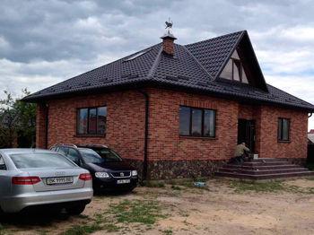 25x12x6,5 см Кирпич Микс Вишнёвый + Киевская Русь