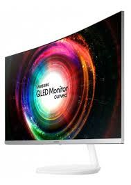 "купить 27.0"" SAMSUNG ""C27H711QEI"", White (VA-QLED 2560x1440, 4ms, 250cd, Mega ∞ DCR, miniDP+HDMI) (27"" VA Q-LED, 2560x1440 WQHD, 4ms, 250 cd/m², Mega ∞ DCR (3000:1 Typ.), sRGB 16.7 Mln Colors, 178°/178° @C/R>10, Mini-DisplayPort + HDMI, External Power Adaptor, Fixed stand Tilt: -2°/+15°,  AMD FreeSync technology, Eye Saver Mode, Flicker-Free, MagicBright, MagicUpscale,   White & Metallic Silver) в Кишинёве"