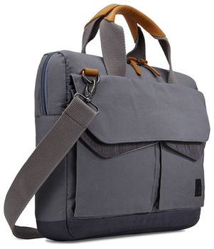"купить 14"" NB  bag - CaseLogic Lodo Attache ""LODA114GR"" Graphite-Anthracite в Кишинёве"