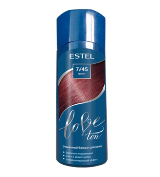 Balsam nuanțător, ESTEL Love Ton, 150 ml., 7/45 - Rodie